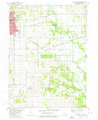 Download a high-resolution, GPS-compatible USGS topo map for Centerville East, IA (1980 edition)