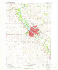 Download a high-resolution, GPS-compatible USGS topo map for Charles City, IA (1973 edition)