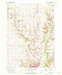 Download a high-resolution, GPS-compatible USGS topo map for Cherokee North, IA (1973 edition)