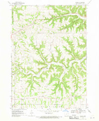 Download a high-resolution, GPS-compatible USGS topo map for Church, IA (1970 edition)
