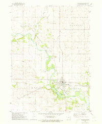 Download a high-resolution, GPS-compatible USGS topo map for Clarksville, IA (1973 edition)