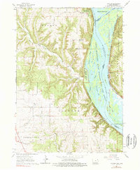 Download a high-resolution, GPS-compatible USGS topo map for Clayton, IA (1962 edition)