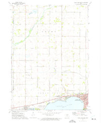 Download a high-resolution, GPS-compatible USGS topo map for Clear Lake West, IA (1972 edition)