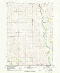 Download a high-resolution, GPS-compatible USGS topo map for Colwell, IA (1973 edition)