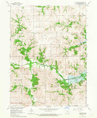 Download a high-resolution, GPS-compatible USGS topo map for Confidence, IA (1967 edition)