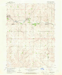Download a high-resolution, GPS-compatible USGS topo map for Conrad East, IA (1966 edition)