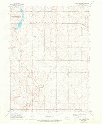 Download a high-resolution, GPS-compatible USGS topo map for Coon Rapids NE, IA (1973 edition)