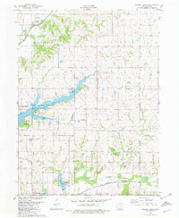 Download a high-resolution, GPS-compatible USGS topo map for Corning North, IA (1981 edition)