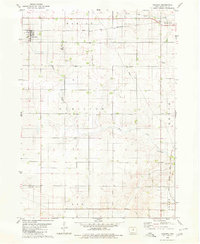 Download a high-resolution, GPS-compatible USGS topo map for Coulter, IA (1980 edition)