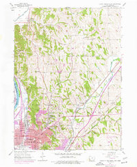 Download a high-resolution, GPS-compatible USGS topo map for Council Bluffs North, IA (1977 edition)