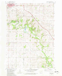 Download a high-resolution, GPS-compatible USGS topo map for Cresco SE, IA (1982 edition)