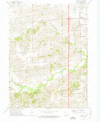 Download a high-resolution, GPS-compatible USGS topo map for Cumming, IA (1975 edition)