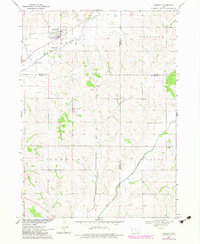 Download a high-resolution, GPS-compatible USGS topo map for Danbury, IA (1983 edition)