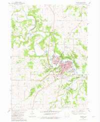 Download a high-resolution, GPS-compatible USGS topo map for Decorah, IA (1982 edition)