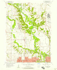Download a high-resolution, GPS-compatible USGS topo map for Des Moines NW, IA (1958 edition)