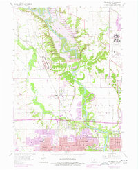 Download a high-resolution, GPS-compatible USGS topo map for Des Moines NW, IA (1977 edition)