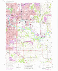 Download a high-resolution, GPS-compatible USGS topo map for Des Moines SE, IA (1977 edition)