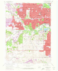 Download a high-resolution, GPS-compatible USGS topo map for Des Moines SW, IA (1972 edition)