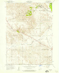 Download a high-resolution, GPS-compatible USGS topo map for Dixon, IA (1958 edition)