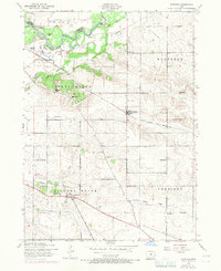 Download a high-resolution, GPS-compatible USGS topo map for Donahue, IA (1971 edition)