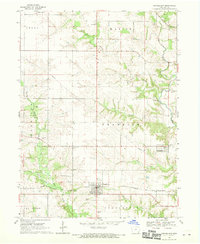 Download a high-resolution, GPS-compatible USGS topo map for Donnellson, IA (1970 edition)