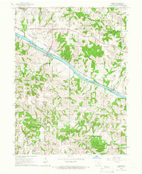 Download a high-resolution, GPS-compatible USGS topo map for Douds, IA (1966 edition)