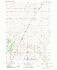 Download a high-resolution, GPS-compatible USGS topo map for Dows East, IA (1980 edition)