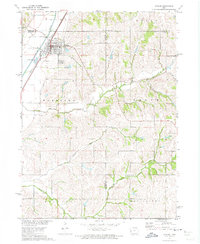 Download a high-resolution, GPS-compatible USGS topo map for Dunlap, IA (1973 edition)