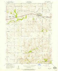 Download a high-resolution, GPS-compatible USGS topo map for Durant, IA (1958 edition)