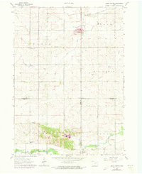 Download a high-resolution, GPS-compatible USGS topo map for Eagle Center, IA (1973 edition)