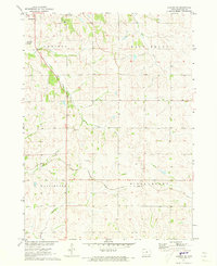 Download a high-resolution, GPS-compatible USGS topo map for Earling NE, IA (1973 edition)
