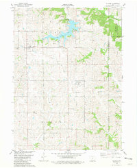 Download a high-resolution, GPS-compatible USGS topo map for Ellston, IA (1981 edition)