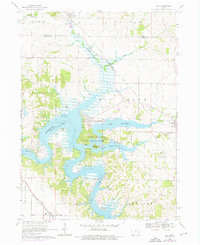 Download a high-resolution, GPS-compatible USGS topo map for Ely, IA (1976 edition)