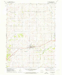 Download a high-resolution, GPS-compatible USGS topo map for Fontanelle, IA (1973 edition)
