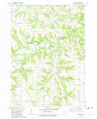 Download a high-resolution, GPS-compatible USGS topo map for Freeport, IA (1982 edition)
