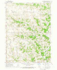 Download a high-resolution, GPS-compatible USGS topo map for Garden Grove SW, IA (1966 edition)