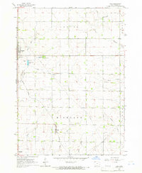 Download a high-resolution, GPS-compatible USGS topo map for Gaza, IA (1966 edition)