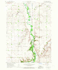 Download a high-resolution, GPS-compatible USGS topo map for Gillett Grove, IA (1967 edition)