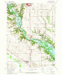 Download a high-resolution, GPS-compatible USGS topo map for Granger, IA (1966 edition)