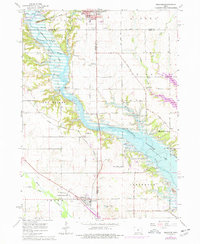 Download a high-resolution, GPS-compatible USGS topo map for Granger, IA (1977 edition)