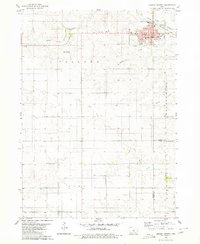 Download a high-resolution, GPS-compatible USGS topo map for Grundy Center, IA (1980 edition)
