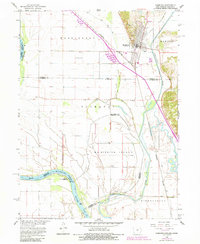Download a high-resolution, GPS-compatible USGS topo map for Hamburg, IA (1984 edition)