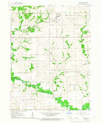 Download a high-resolution, GPS-compatible USGS topo map for Harper, IA (1966 edition)