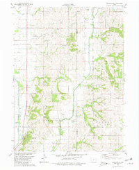 Download a high-resolution, GPS-compatible USGS topo map for Hawleyville, IA (1981 edition)