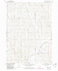 Download a high-resolution, GPS-compatible USGS topo map for Holstein SW, IA (1983 edition)