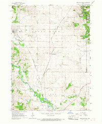 Download a high-resolution, GPS-compatible USGS topo map for Hopkinton East, IA (1967 edition)