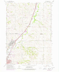 Download a high-resolution, GPS-compatible USGS topo map for James, IA (1977 edition)