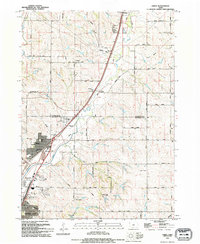 Download a high-resolution, GPS-compatible USGS topo map for James, IA (1995 edition)