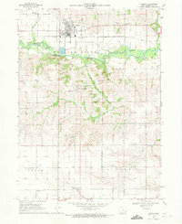 Download a high-resolution, GPS-compatible USGS topo map for Kalona, IA (1971 edition)