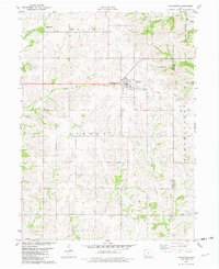 Download a high-resolution, GPS-compatible USGS topo map for Kellerton, IA (1982 edition)